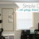 simply organized crib springs diy