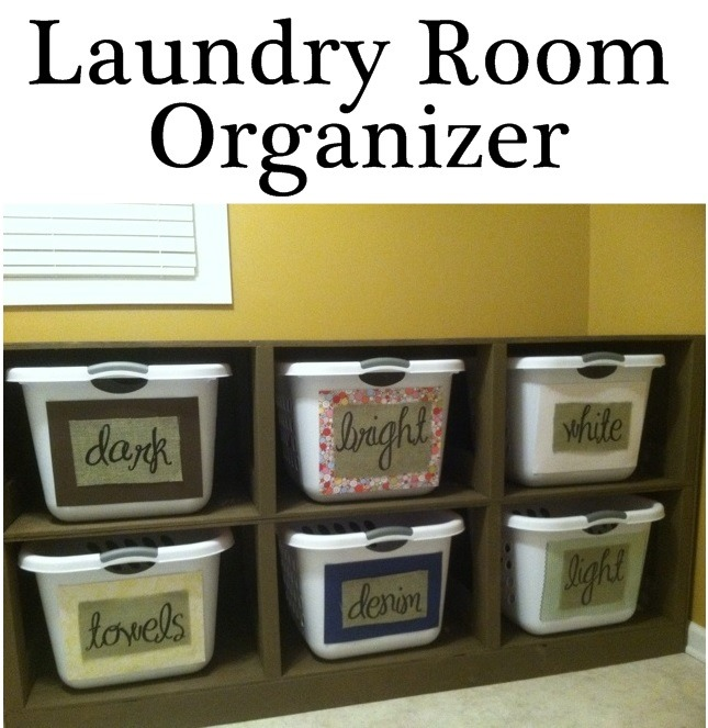 laundry room organizer organize and inspire