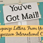 Organize Letters